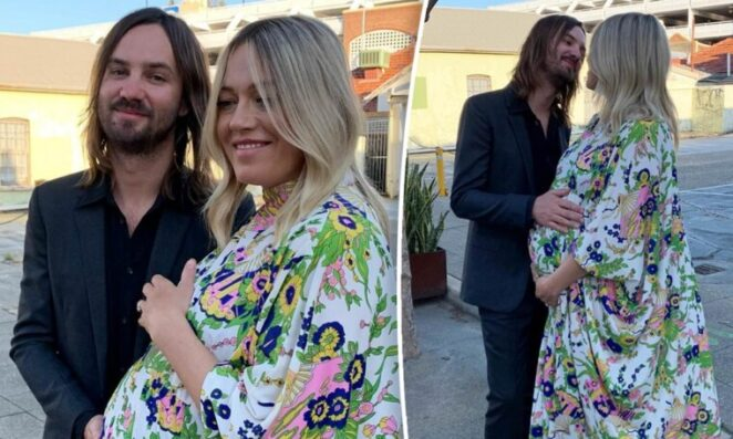Kevin Parker and wife